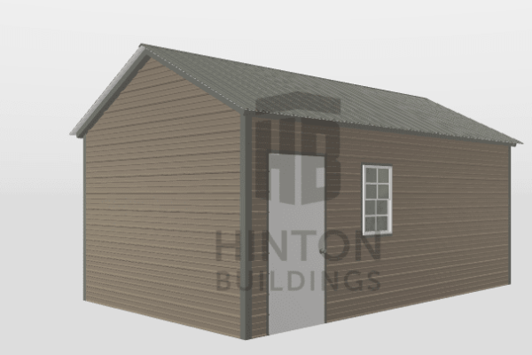 Ryan from Princeton, NC designed this 12x20x8 building with our 3D Building Designer.