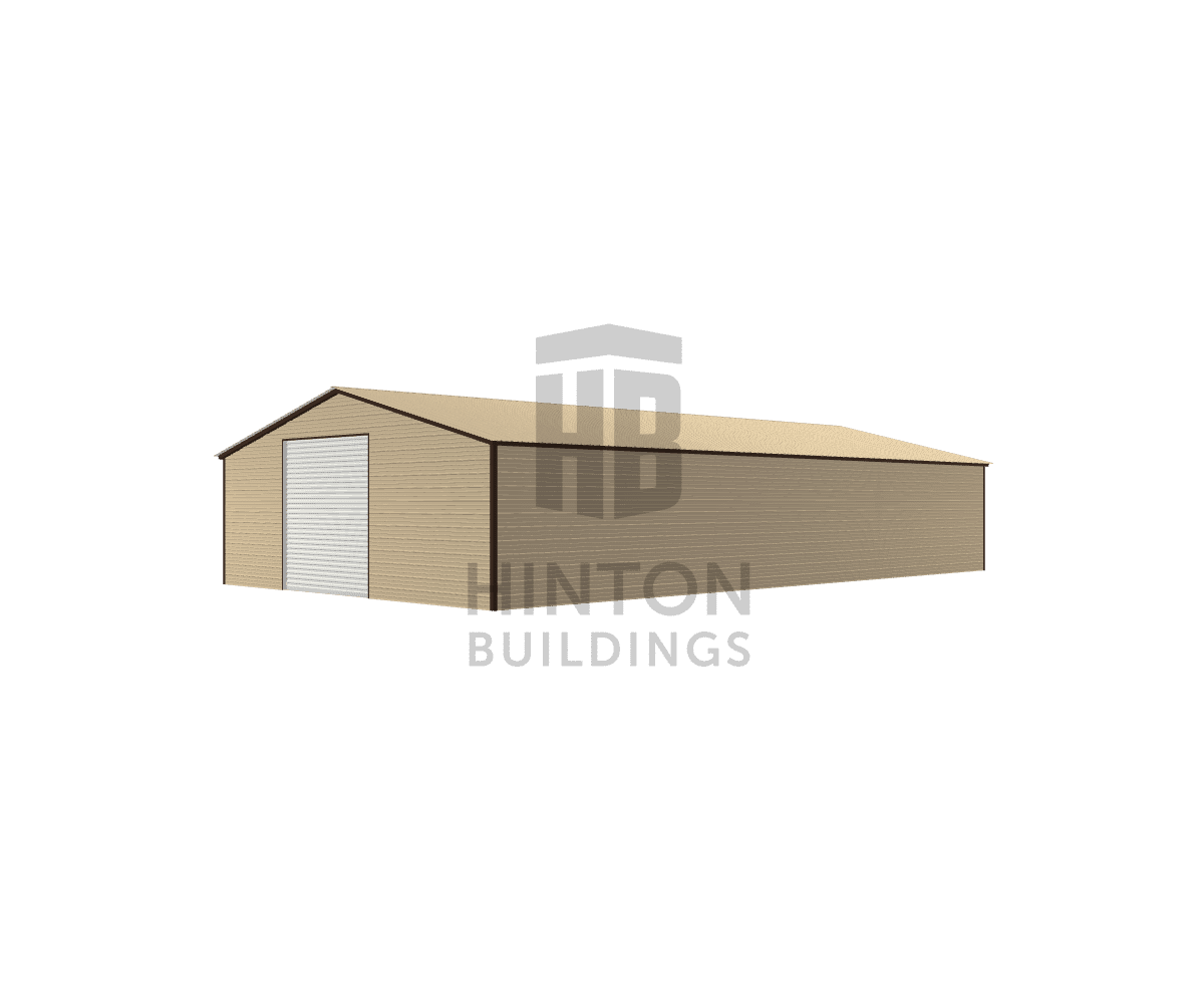 Robert from Raleigh, NC designed this 30x55x9 building with our 3D Building Designer.
