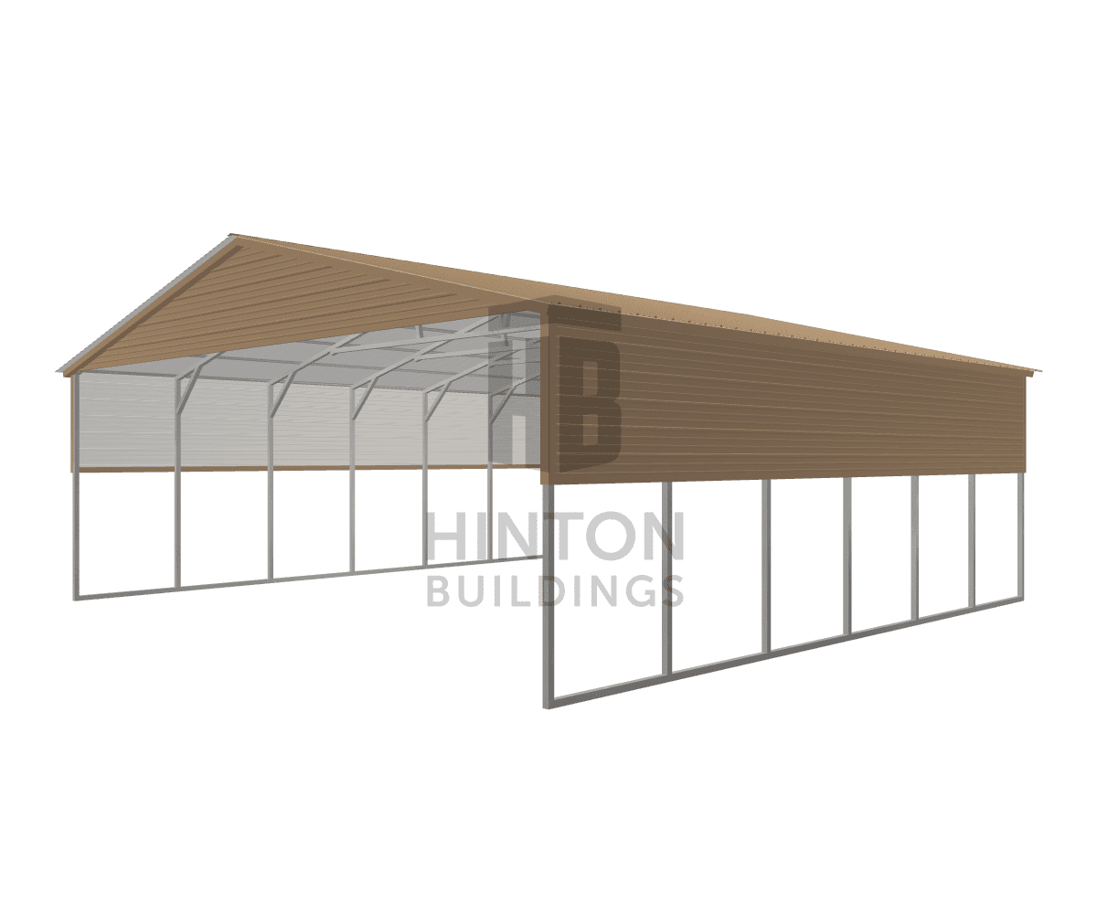 Weston from Benson, NC designed this 30x30x10 building with our 3D Building Designer.