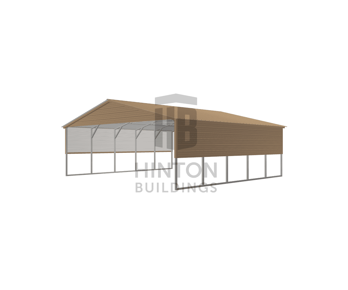 Kim from CLAYTON, NC designed this 26x25x8 building with our 3D Building Designer.
