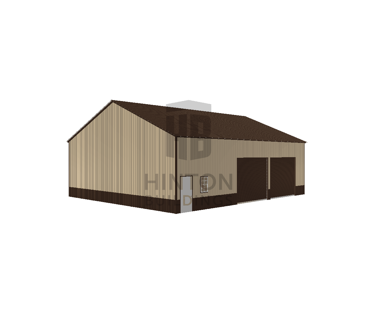 """SIM """"JERRY"""" from DUNN, NC designed this 40x48x14 building with our 3D Building Designer."""