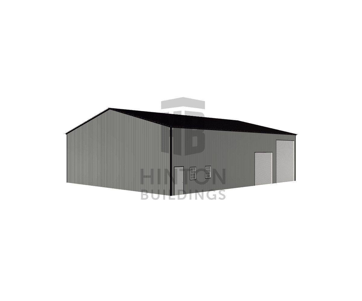 Lindsay from Fuquay-Varina, NC designed this 50x60x16 building with our 3D Building Designer.