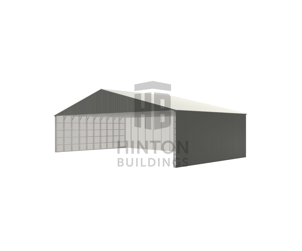 Elizabeth from Durham, NC designed this 70x40x16 building with our 3D Building Designer.