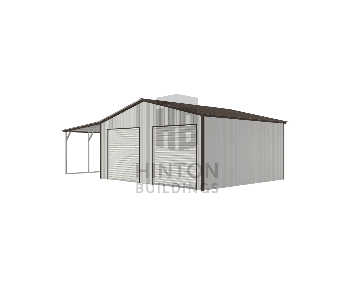Will from Smithfield, NC designed this 22,12x20,20x9,8 building with our 3D Building Designer.