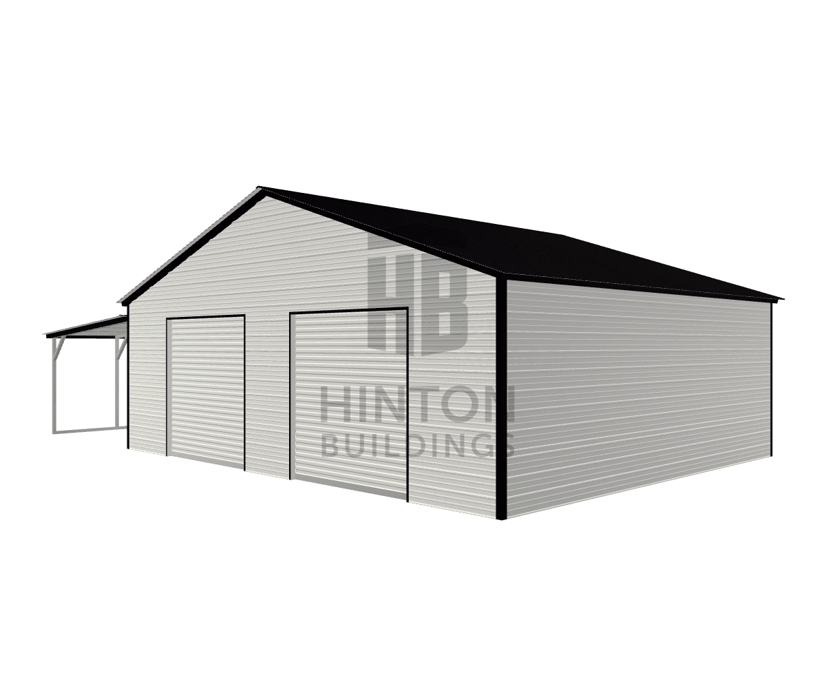 Seth from Kenly, NC designed this 30,12x25,25x9,7 building with our 3D Building Designer.
