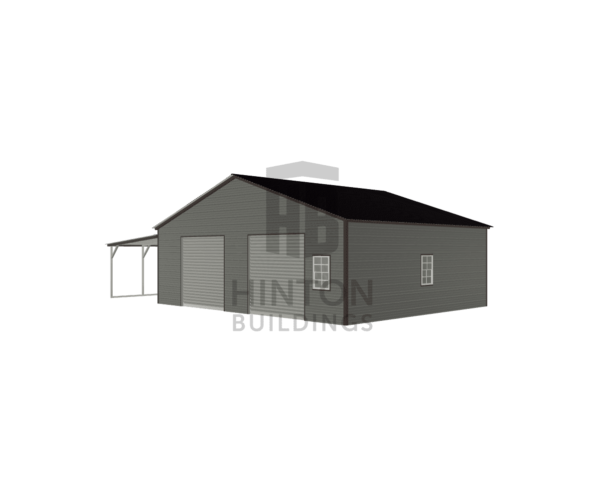 Kelly from Selma, NC designed this 30,12x25,25x9,7 building with our 3D Building Designer.