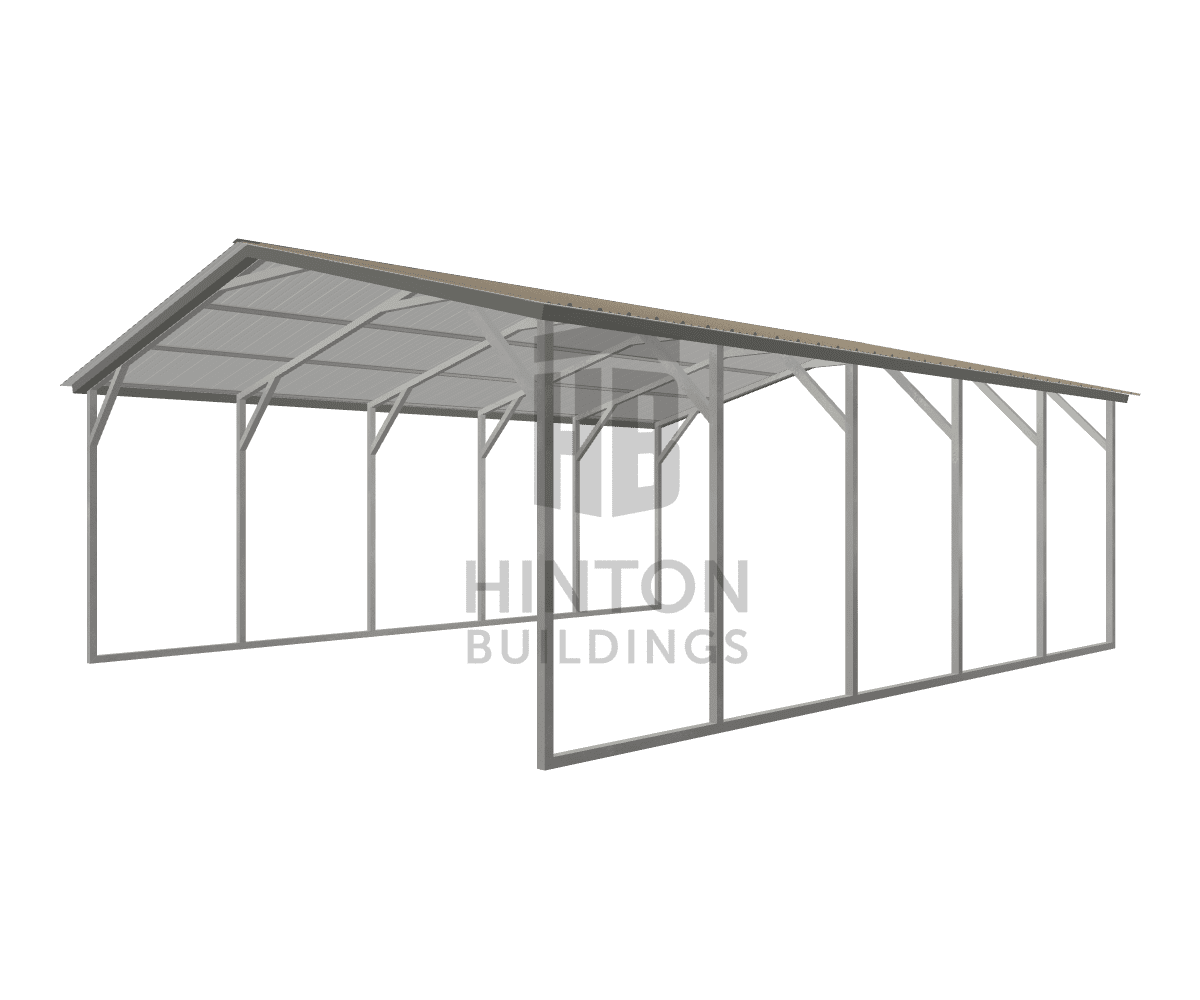 Ricky from Kenly, NC designed this 20x25x8 building with our 3D Building Designer.