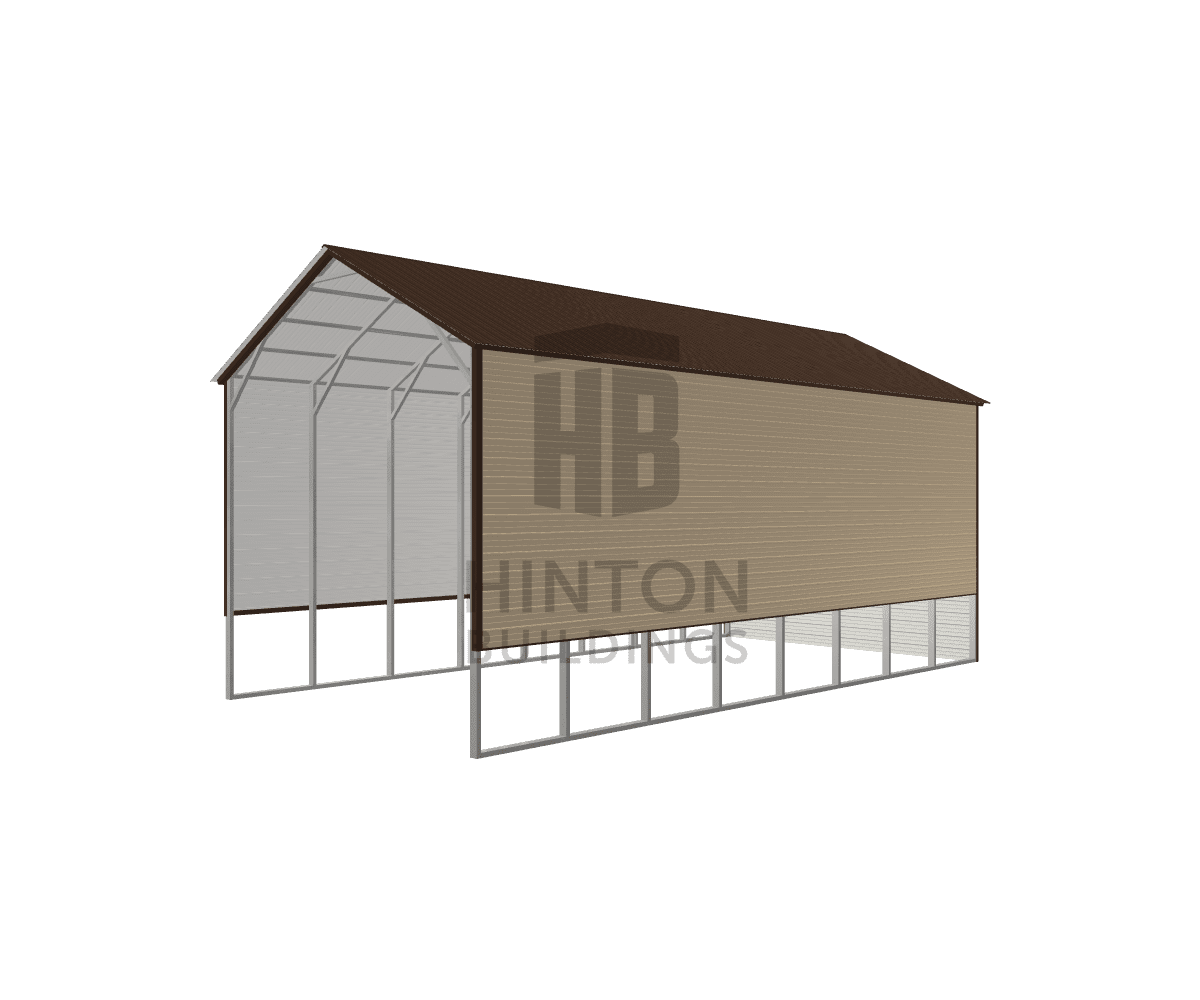 Michael from Apex, NC designed this 20x40x16 building with our 3D Building Designer.