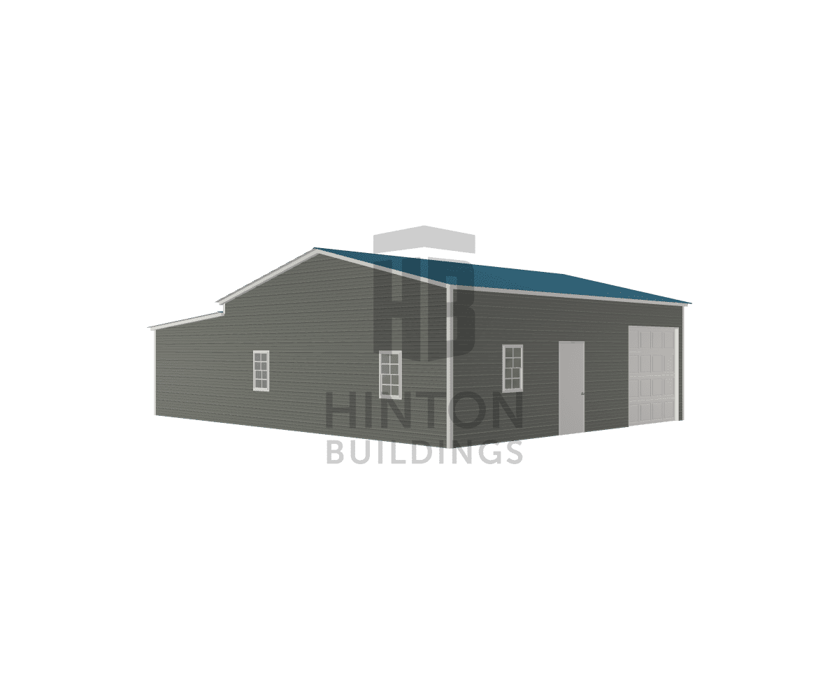 Jimmy from Kenansville, NC designed this 26,12x30,30x10,8 building with our 3D Building Designer.