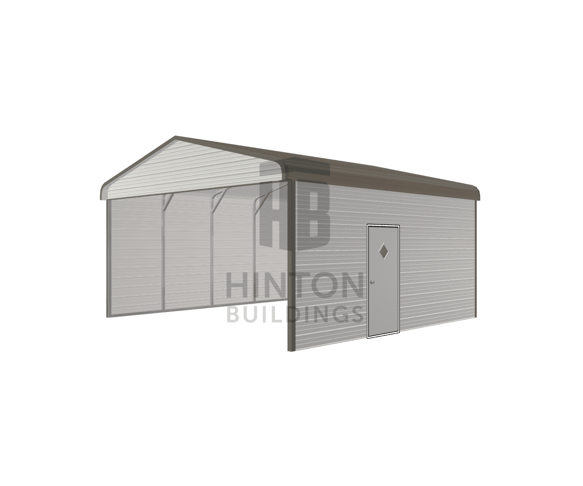 David from Sims, NC designed this 20x20x9 building with our 3D Building Designer.