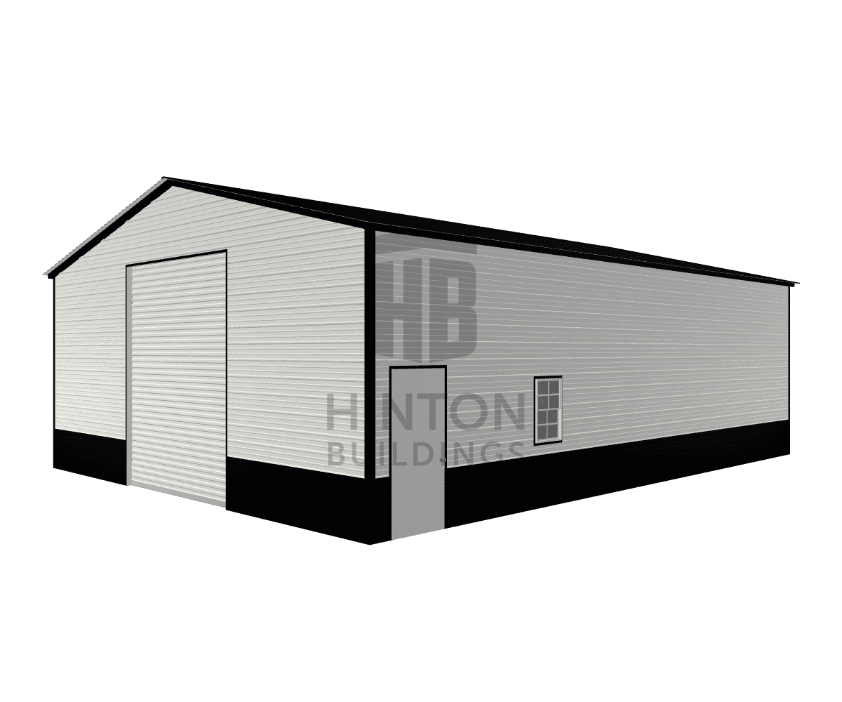 Todd from Cove city, NC designed this 30x40x12 building with our 3D Building Designer.