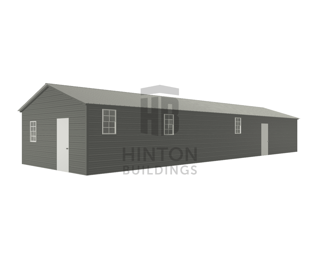 Lisa from Pikeville , NC designed this 18x60x8 building with our 3D Building Designer.