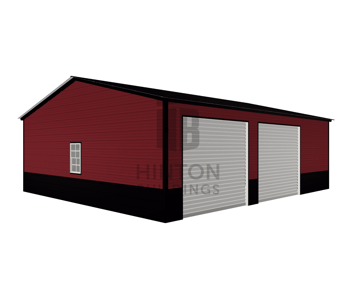 Jeremiah from Clayton , NC designed this 26x30x9 building with our 3D Building Designer.