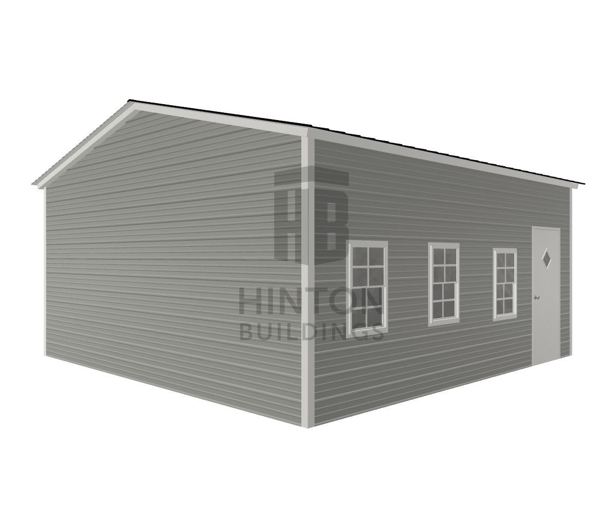 Kevin from Four Oaks , NC designed this 20x20x9 building with our 3D Building Designer.