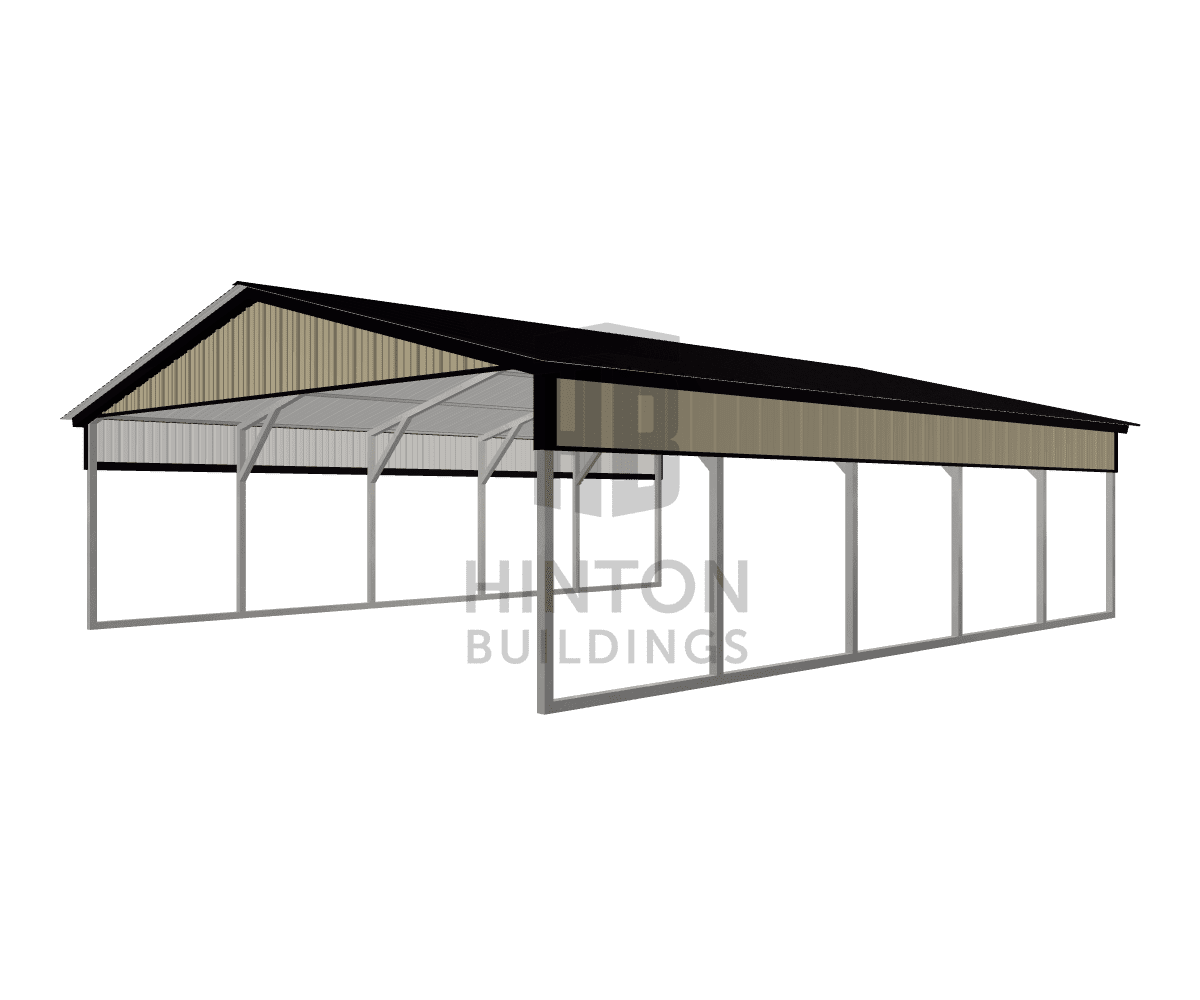 Kevin from Clayton, NC designed this 20x25x6 building with our 3D Building Designer.