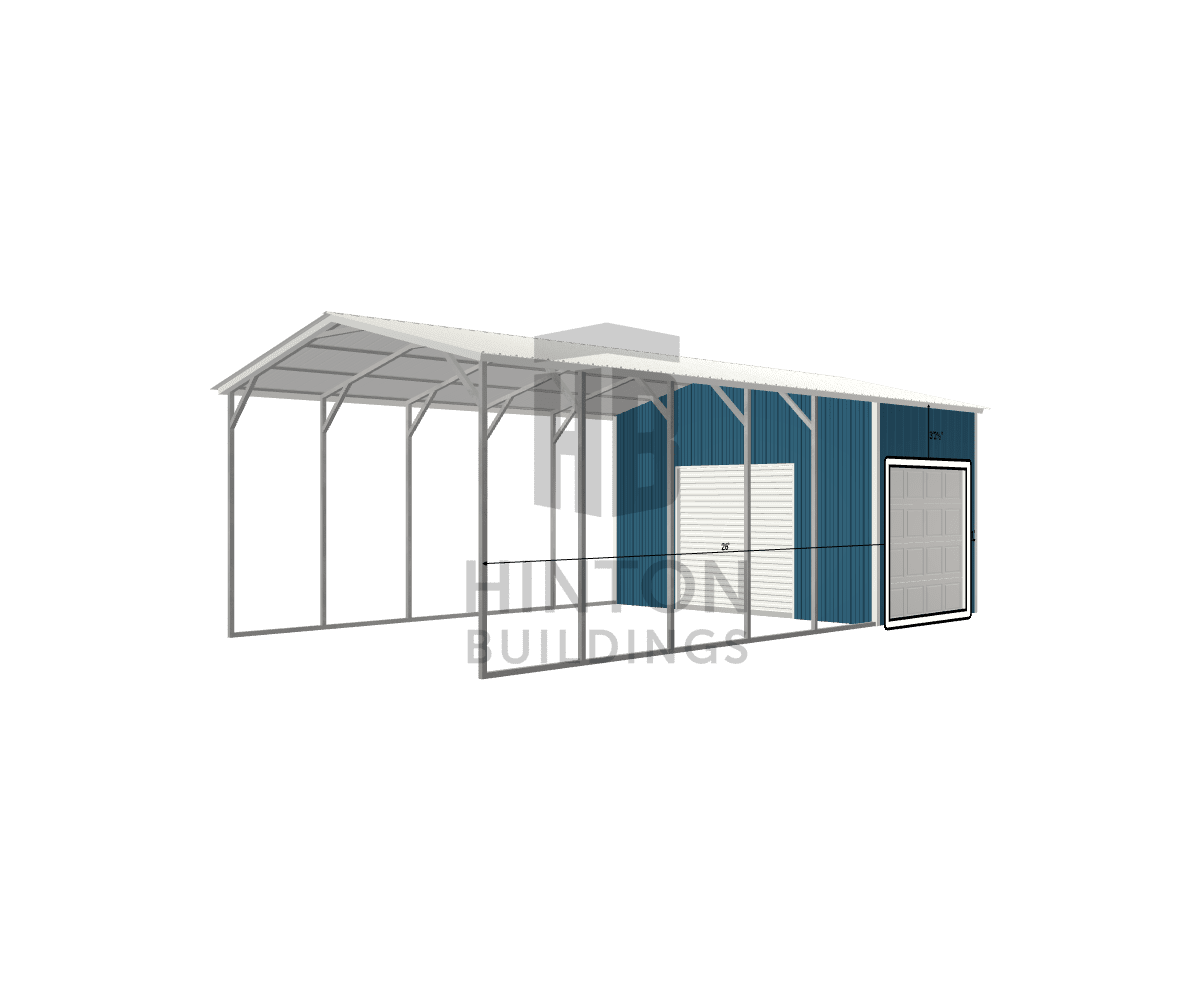 Gary from Wendell, NC designed this 18x35x11 building with our 3D Building Designer.