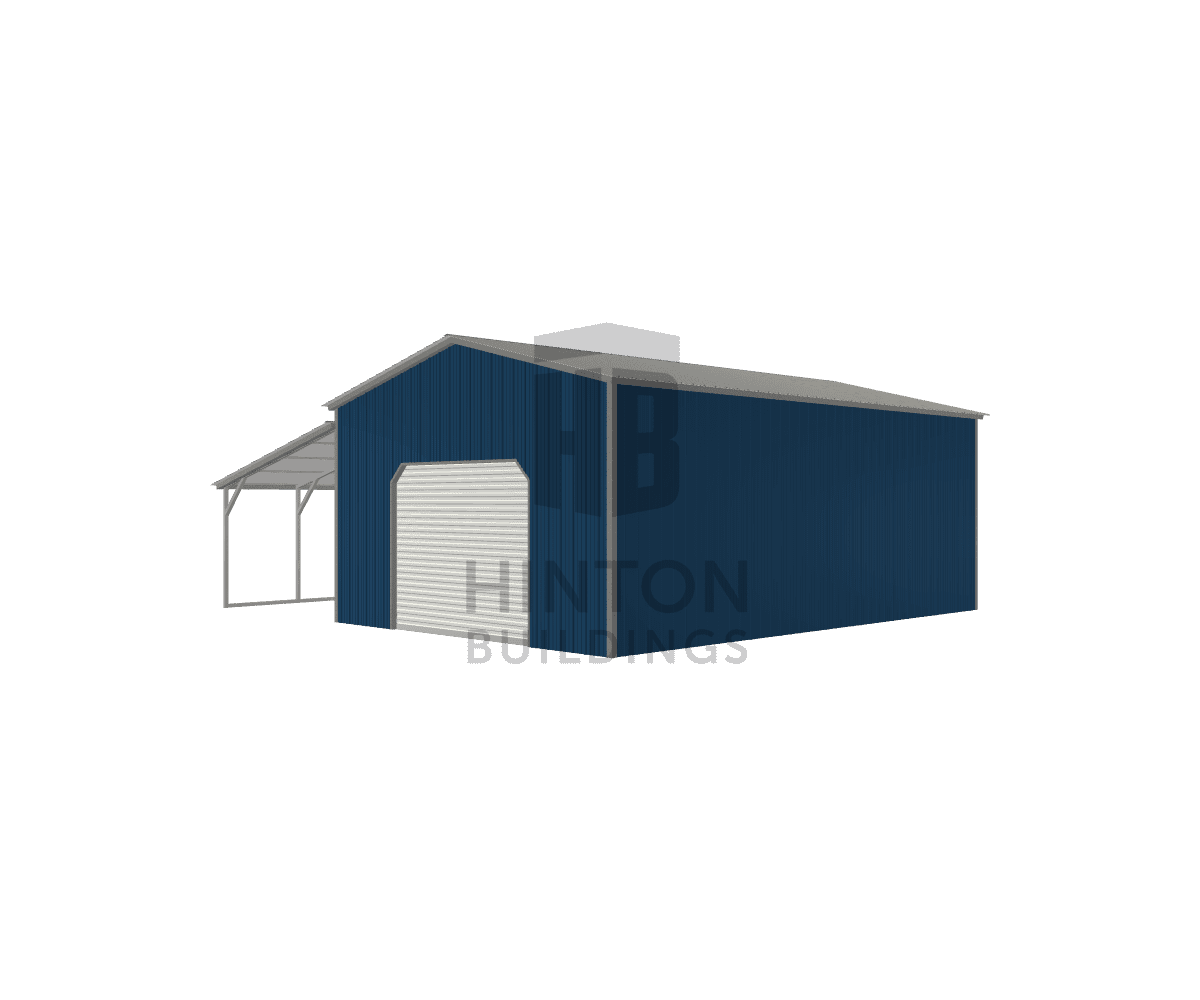 Don from Concord , NC designed this 20,12x30,30x11,7 building with our 3D Building Designer.