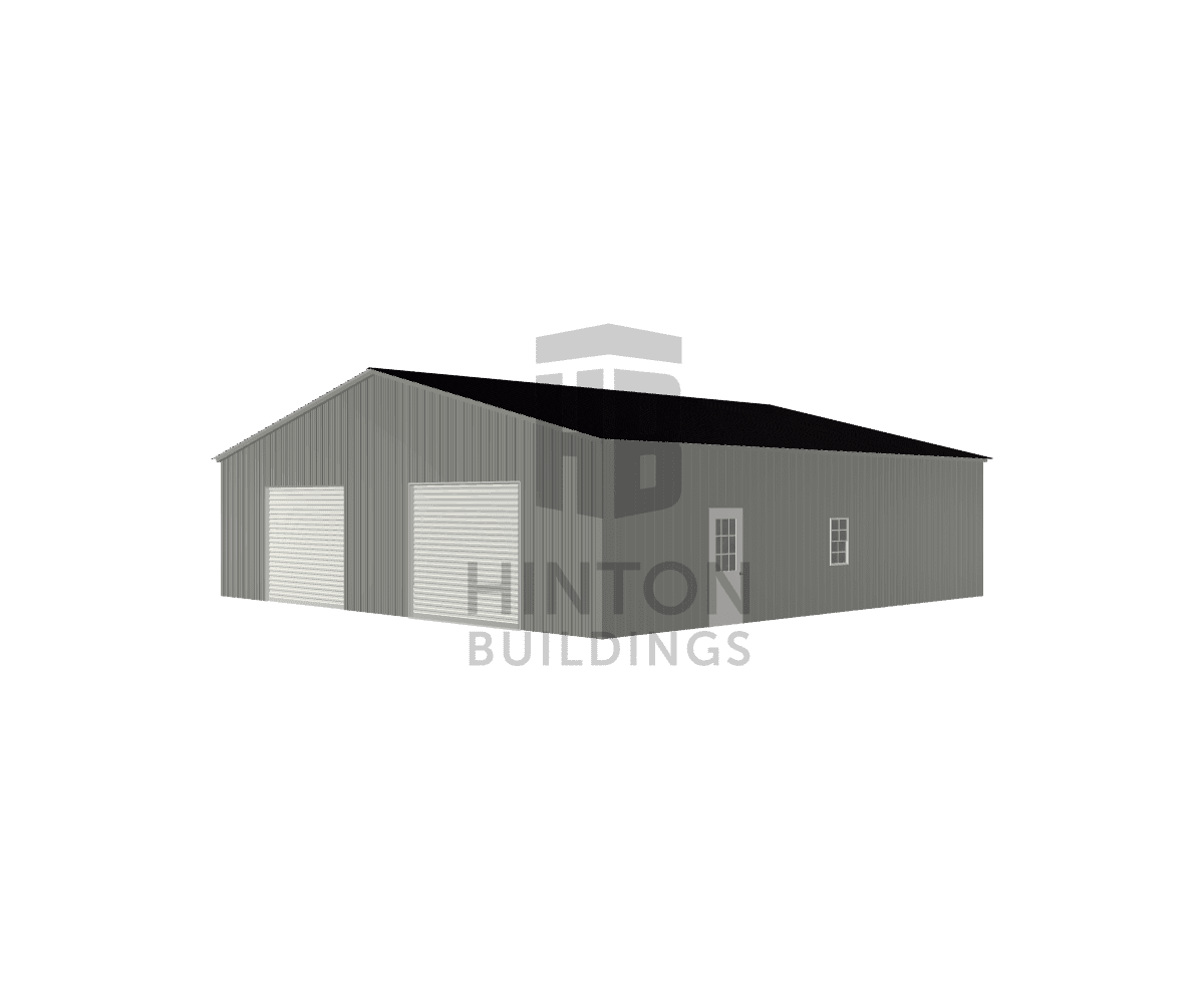 Chase from Pikeville, NC designed this 40x40x10 building with our 3D Building Designer.
