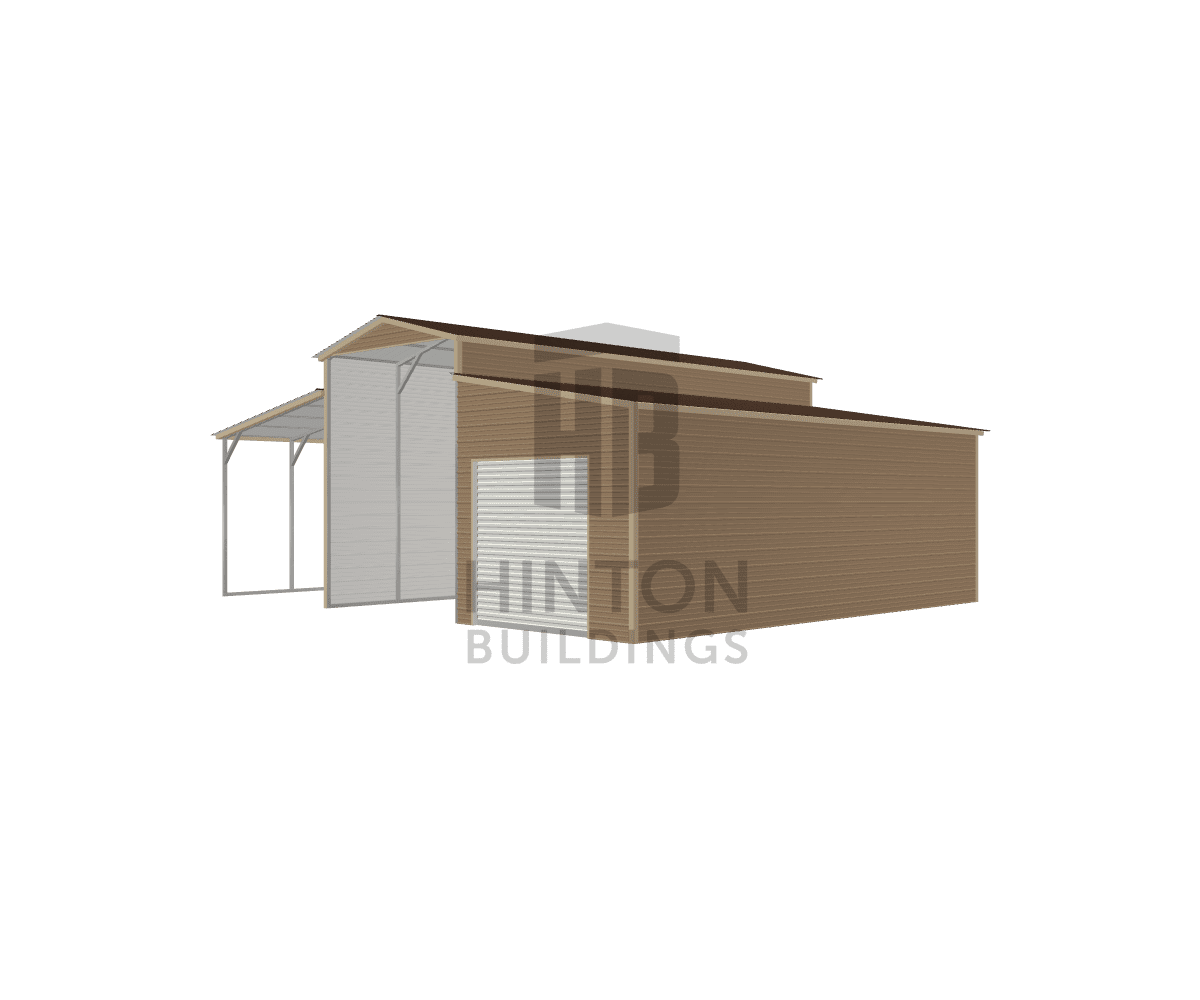 John from FOUR OAKS, NC designed this 12,12,12x30,30,30x14,10,10 building with our 3D Building Designer.