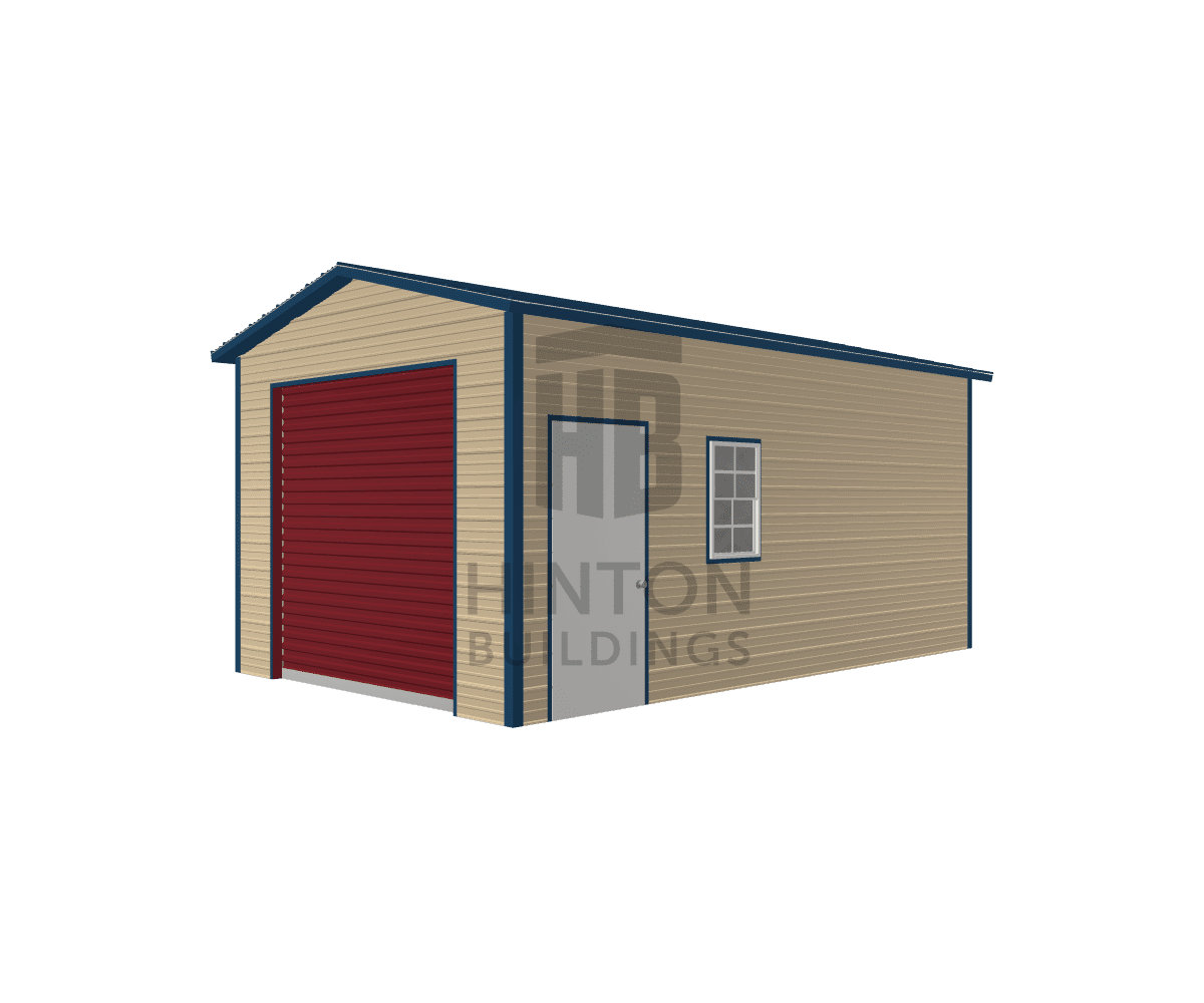 Larry from Kinston, NC designed this 12x20x9 building with our 3D Building Designer.