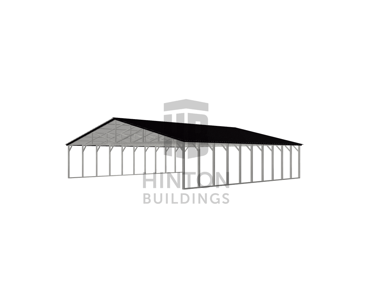 Barry from FOUR OAKS, NC designed this 40x40x8 building with our 3D Building Designer.