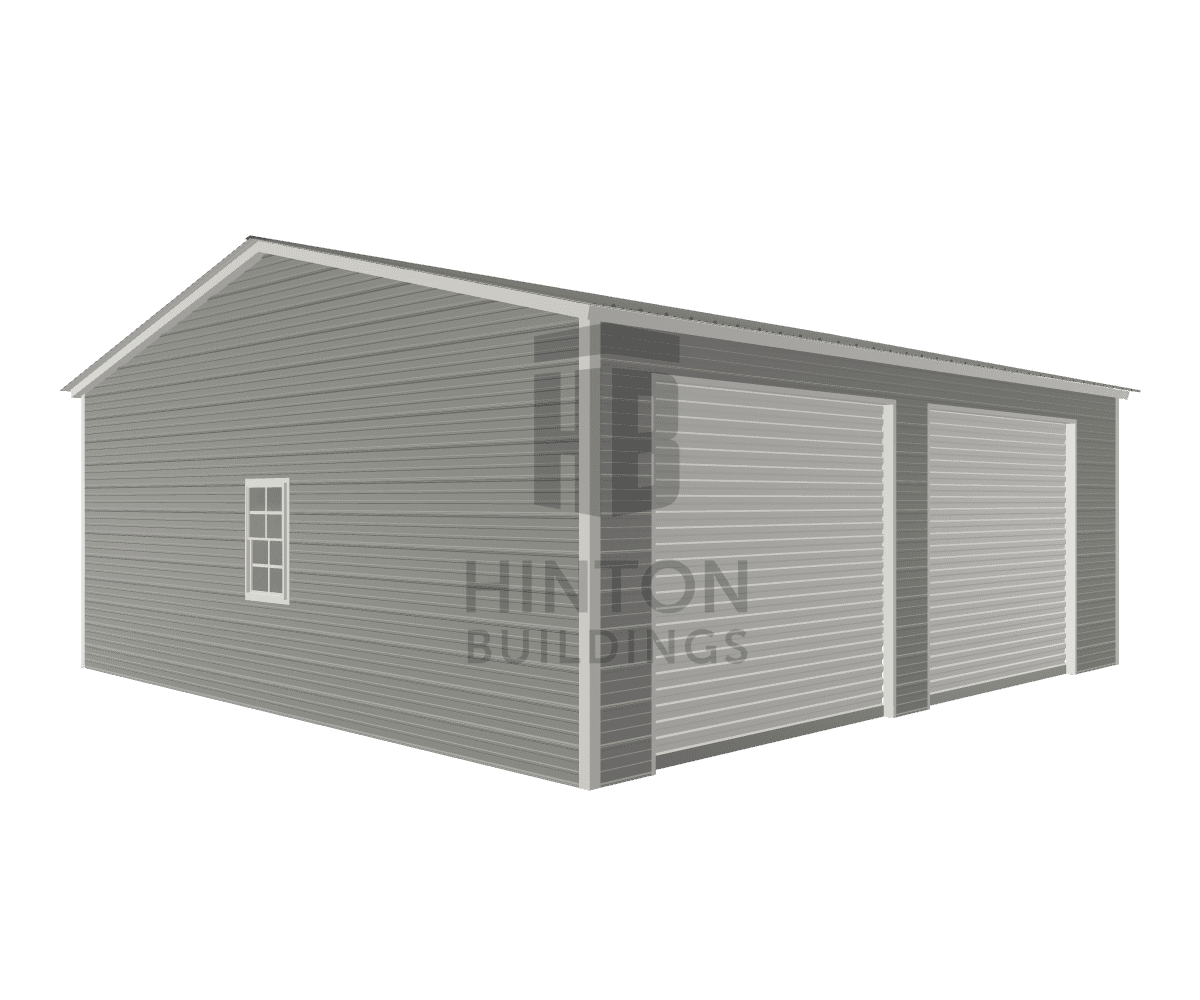 Cole from Marion, NC designed this 24x25x9 building with our 3D Building Designer.