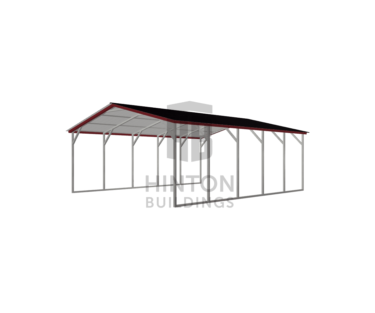 Sara from Smithfield, NC designed this 20x25x8 building with our 3D Building Designer.
