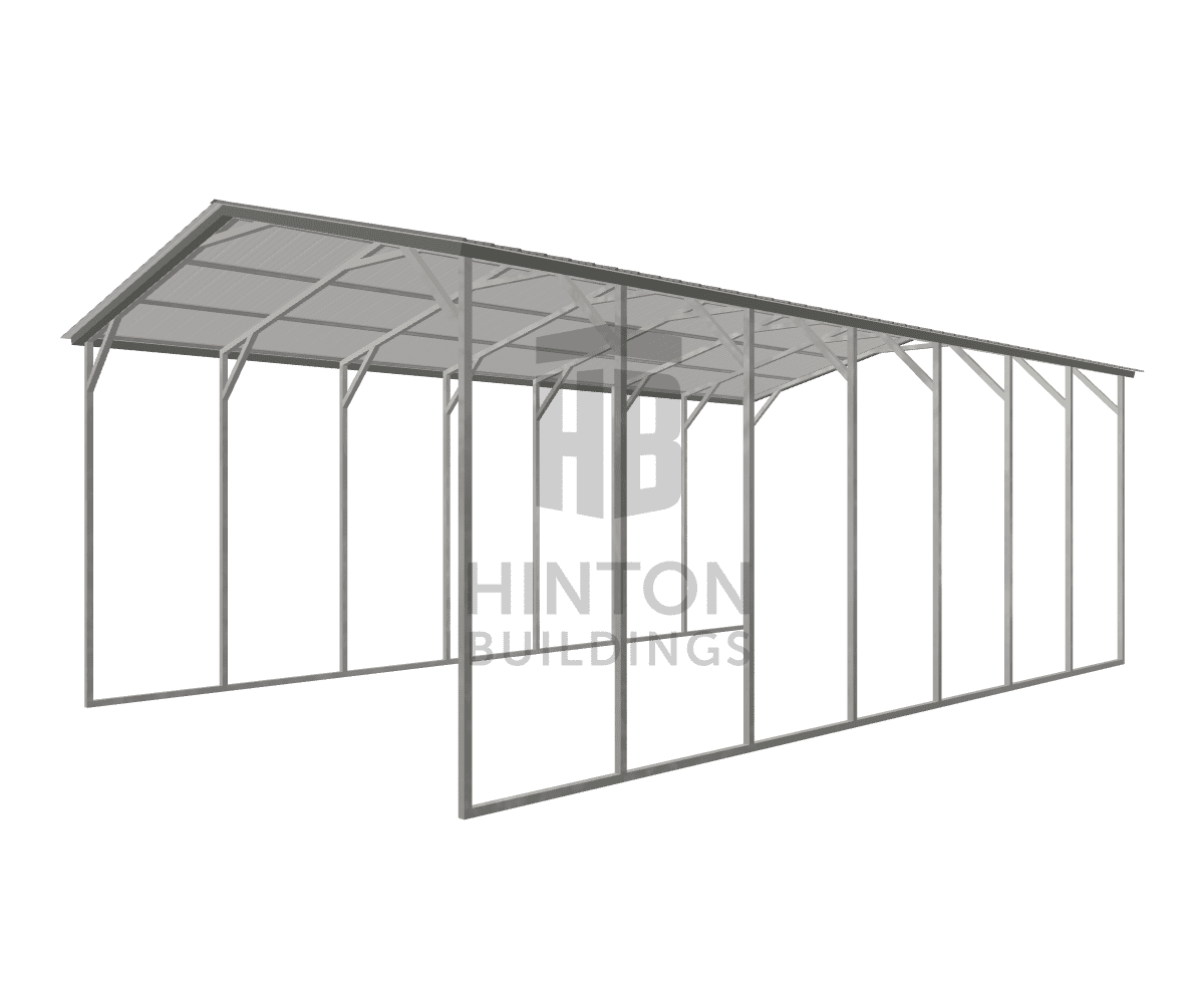 Brian from Benson, NC designed this 20x35x12 building with our 3D Building Designer.