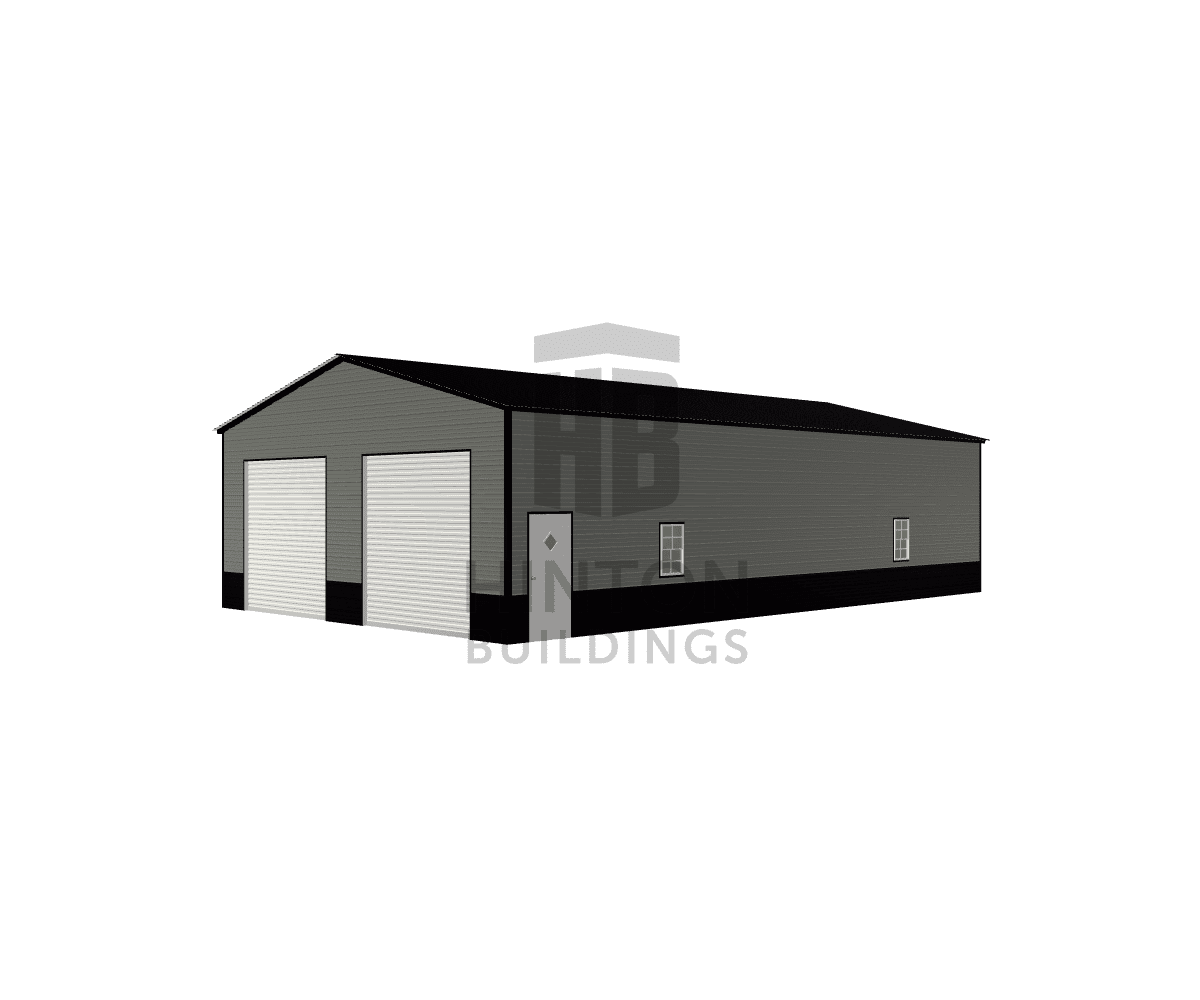 Kyle from Princeton, NC designed this 30x50x12 building with our 3D Building Designer.
