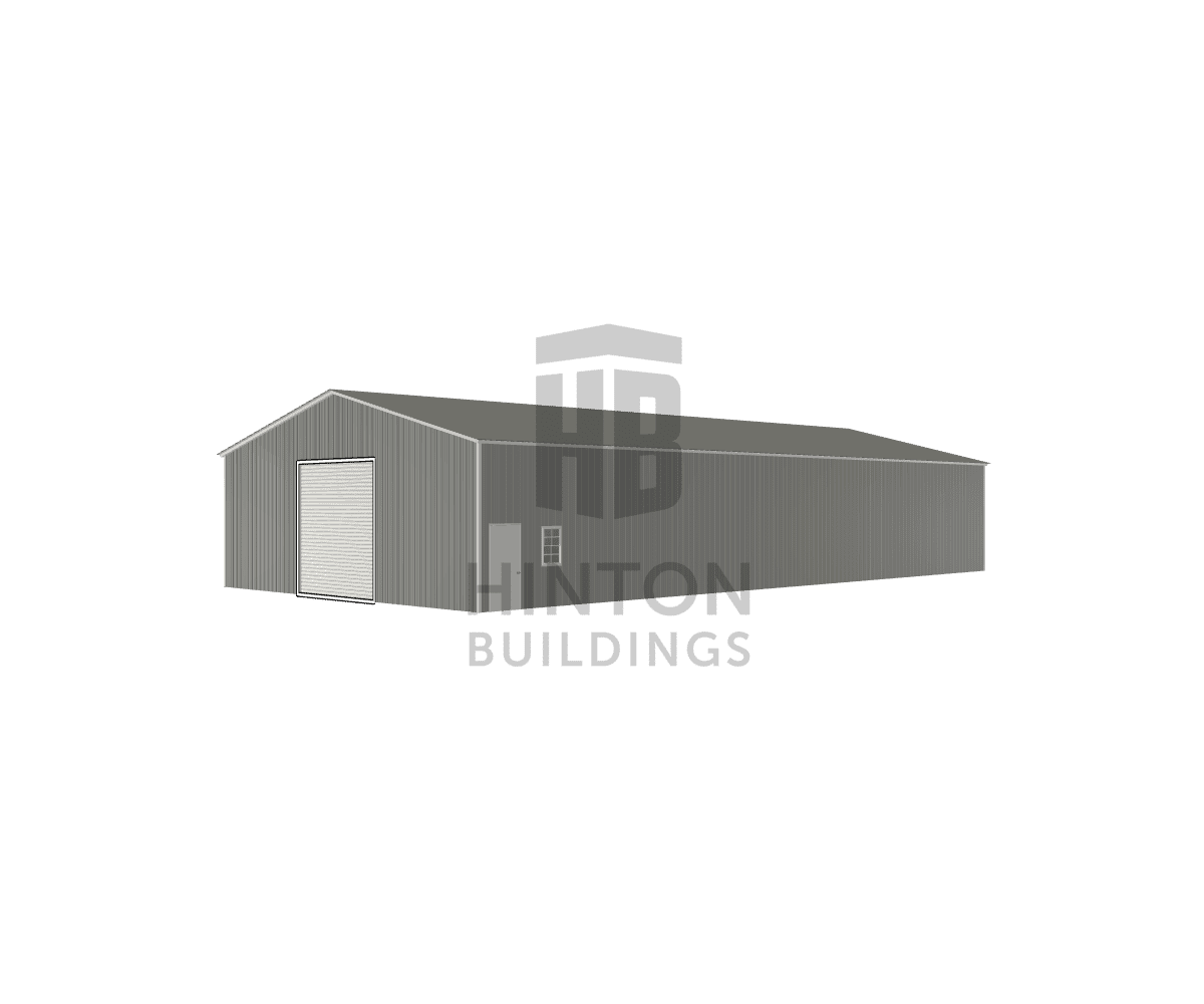 MICHAEL from Wilson, NC designed this 40x80x13 building with our 3D Building Designer.