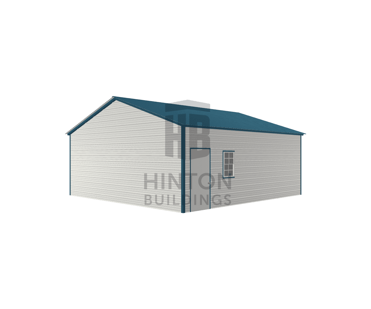 wiley from ROANOKE RAPIDS, NC designed this 24x25x9 building with our 3D Building Designer.