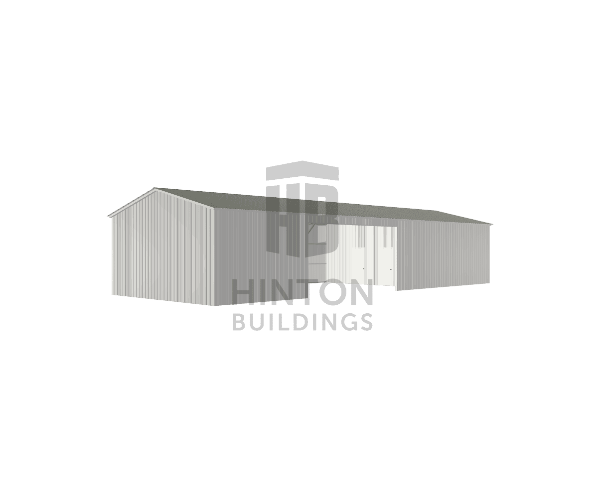 Elizabeth from Durham, NC designed this 24x65x11 building with our 3D Building Designer.