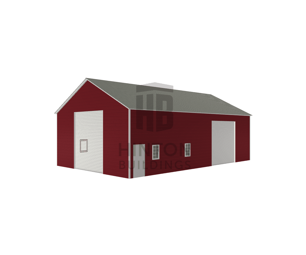 Robert from Creedmoor, NC designed this 30x50x14 building with our 3D Building Designer.