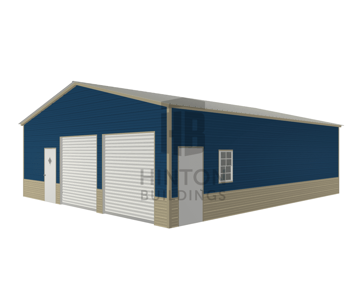 Josh from Willow Spring , NC designed this 30x35x10 building with our 3D Building Designer.