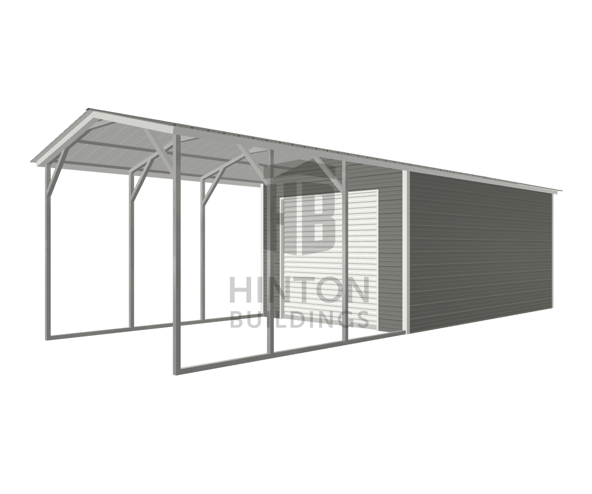 Bernice from SELMA, NC designed this 12x35x9 building with our 3D Building Designer.