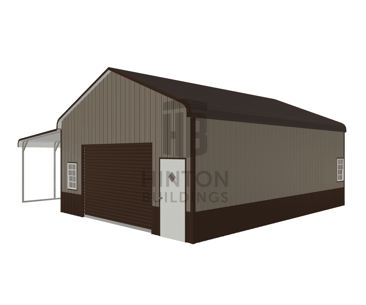Kevin from Princeton, NC designed this 22,12x30,30x10,8 building with our 3D Building Designer.