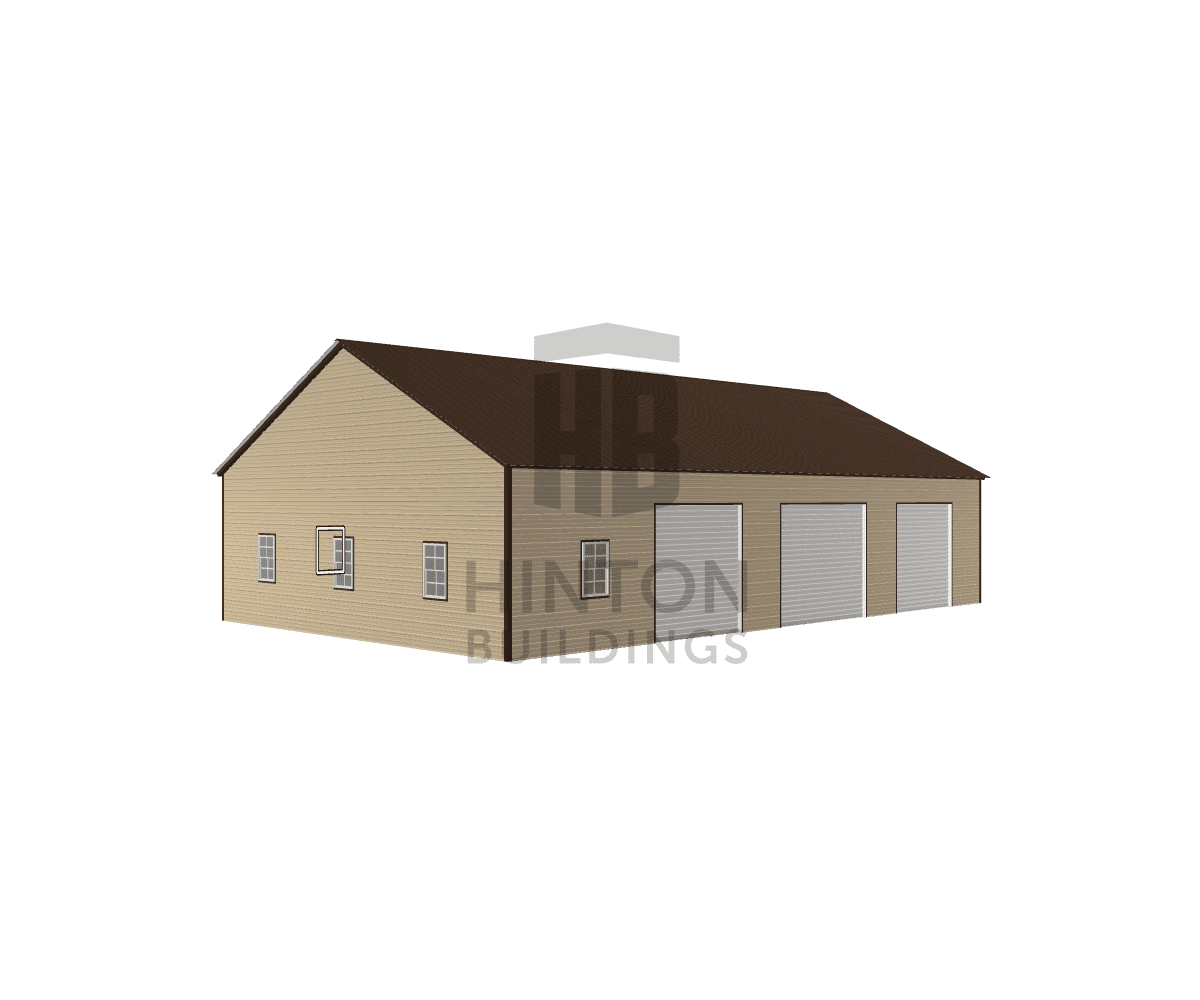 John from Leasburg, NC designed this 30x50x10 building with our 3D Building Designer.