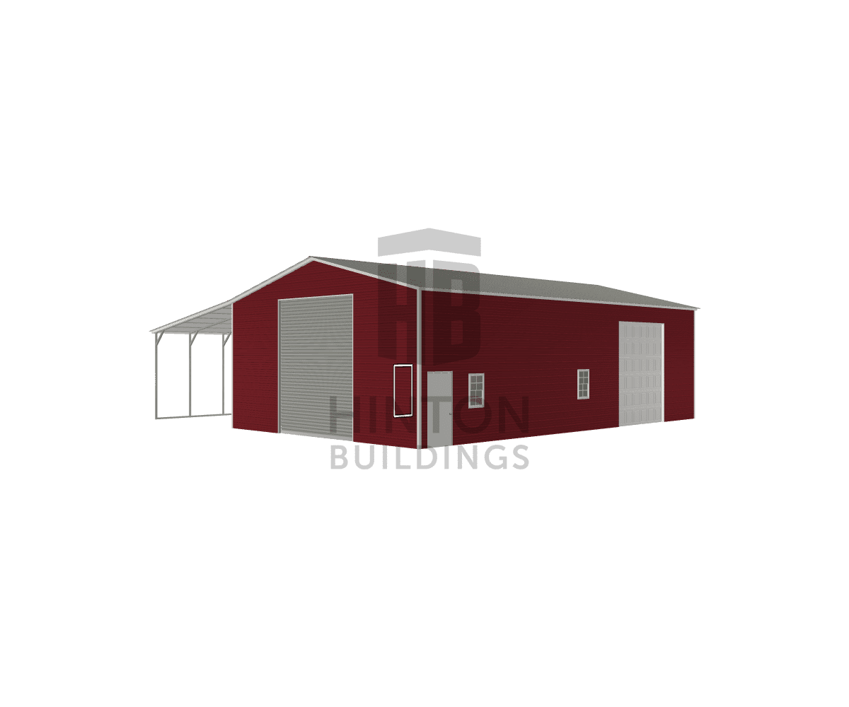 Robert from Creedmoor, NC designed this 30,18x50,50x14,11 building with our 3D Building Designer.