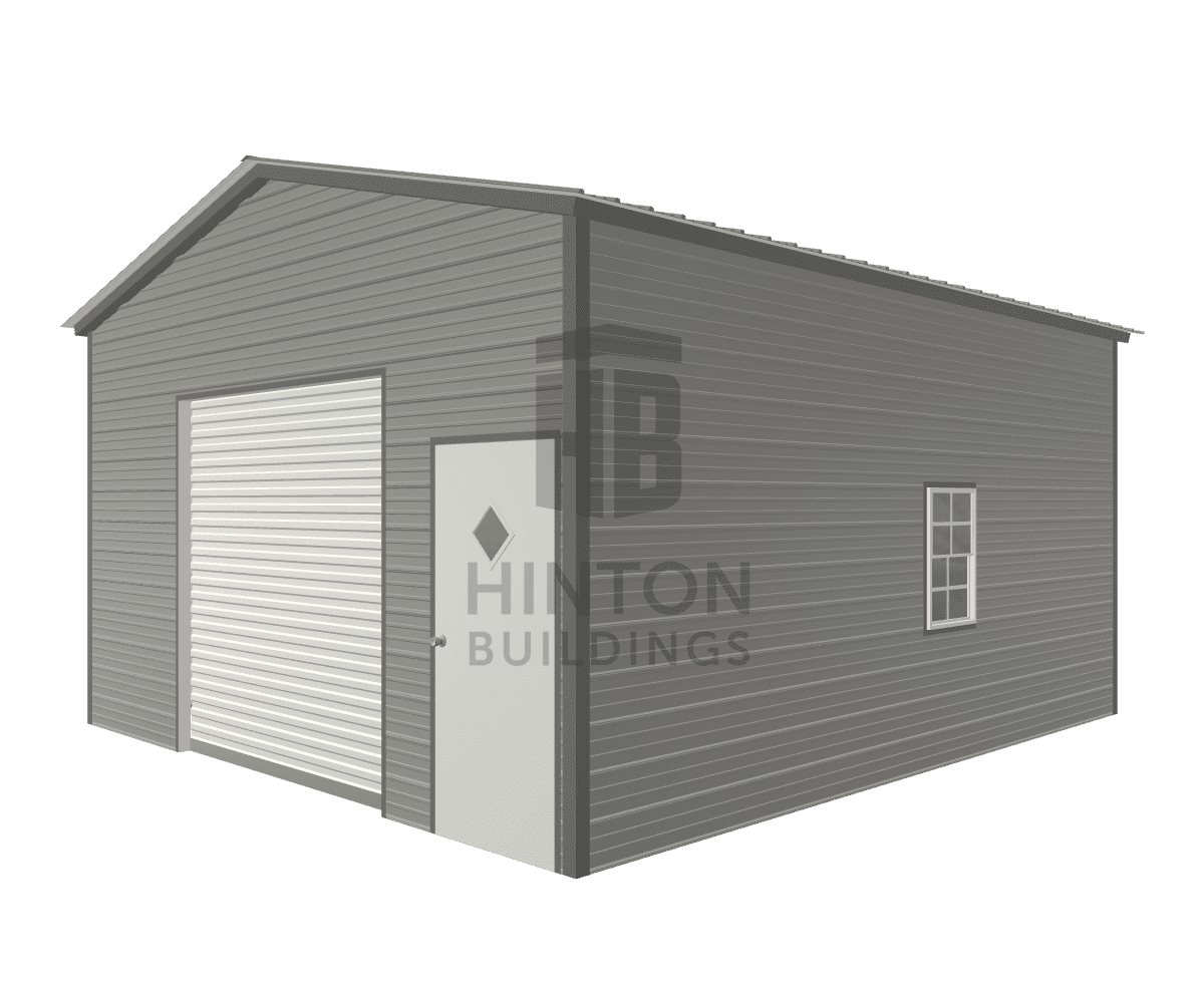 Tonya from Zebulon, NC designed this 18x20x10 building with our 3D Building Designer.