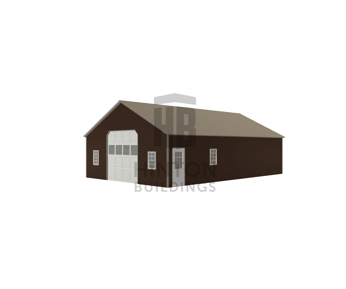 Mark from Goldsboro, NC designed this 26,12x40,20x9,8 building with our 3D Building Designer.