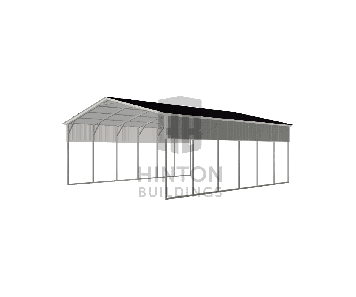 Chris from Zebulon, NC designed this 24x30x10 building with our 3D Building Designer.
