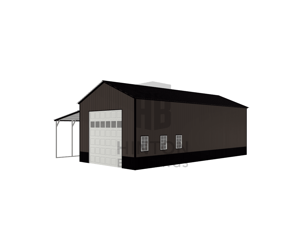 AJ from clayton, NC designed this 20,12x45,45x14,10 building with our 3D Building Designer.