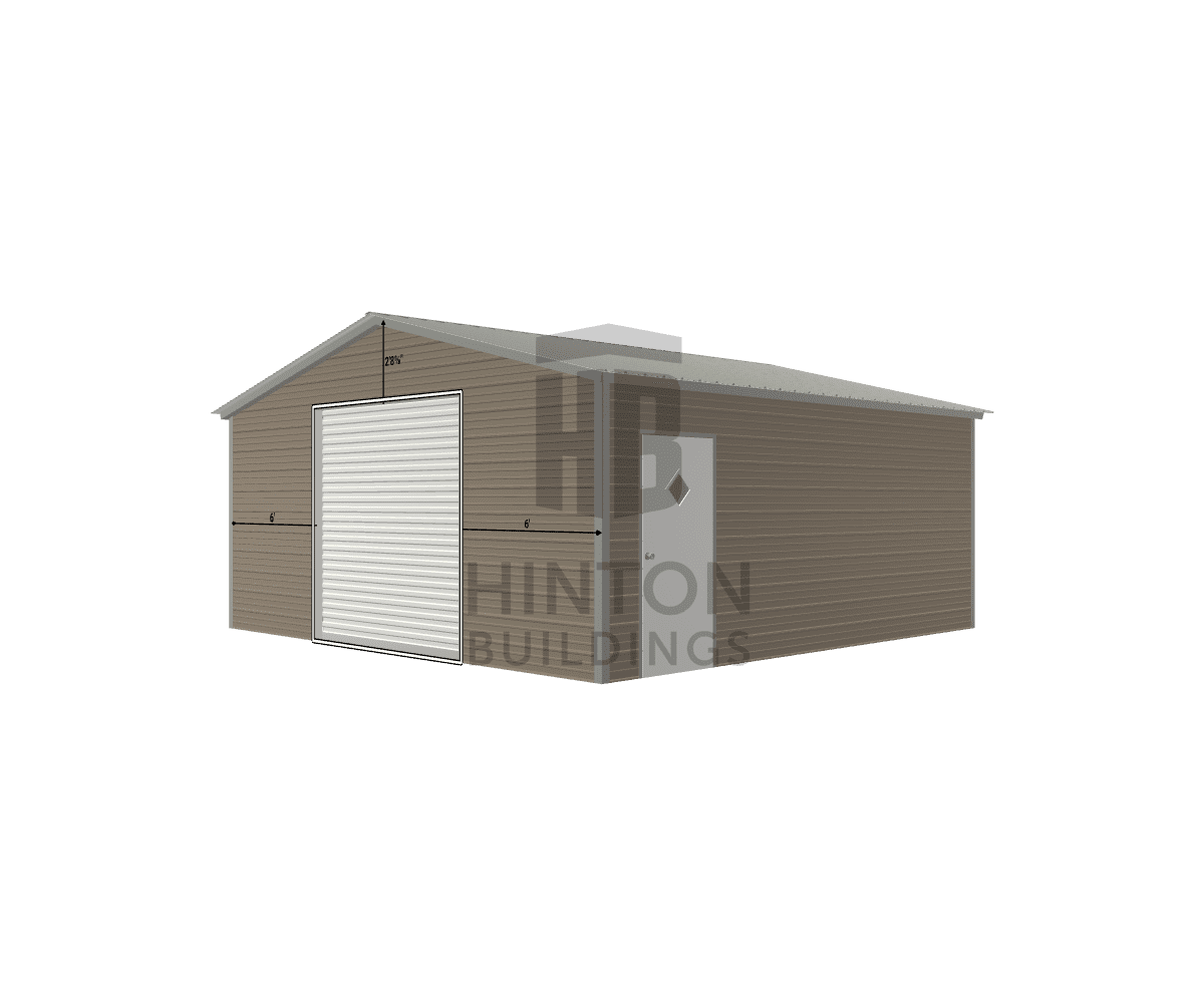 Richard from Mt. Olive, NC designed this 20x20x8 building with our 3D Building Designer.