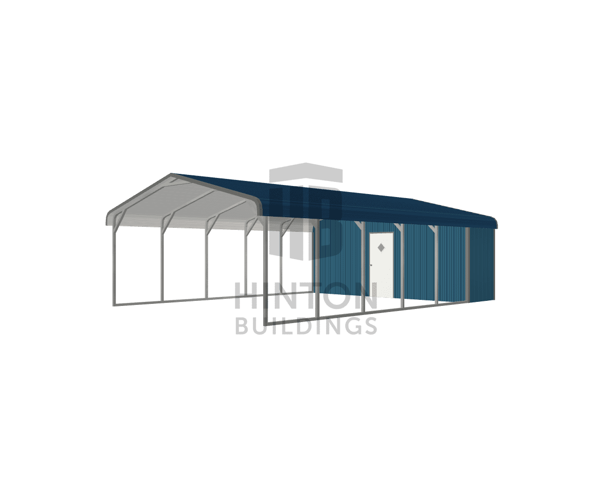 Tracy from Williamston, NC designed this 20x30x7 building with our 3D Building Designer.