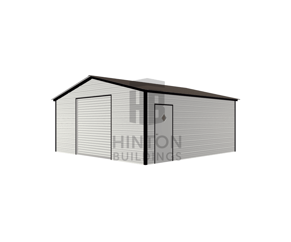 Anthony from HOLLY SPRINGS, NC designed this 20x20x8 building with our 3D Building Designer.