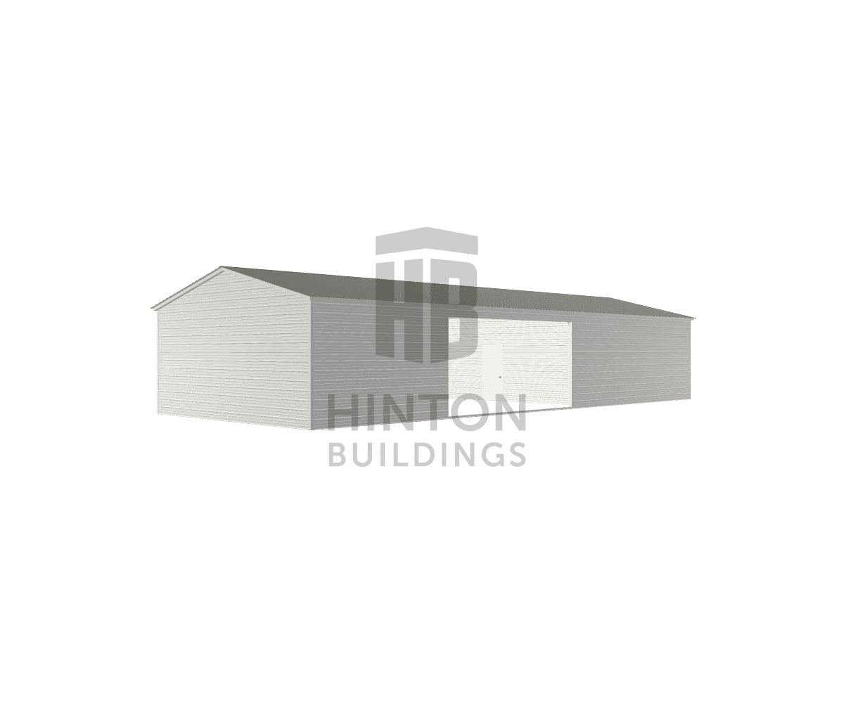 Elizabeth from Durham, NC designed this 24x60x10 building with our 3D Building Designer.