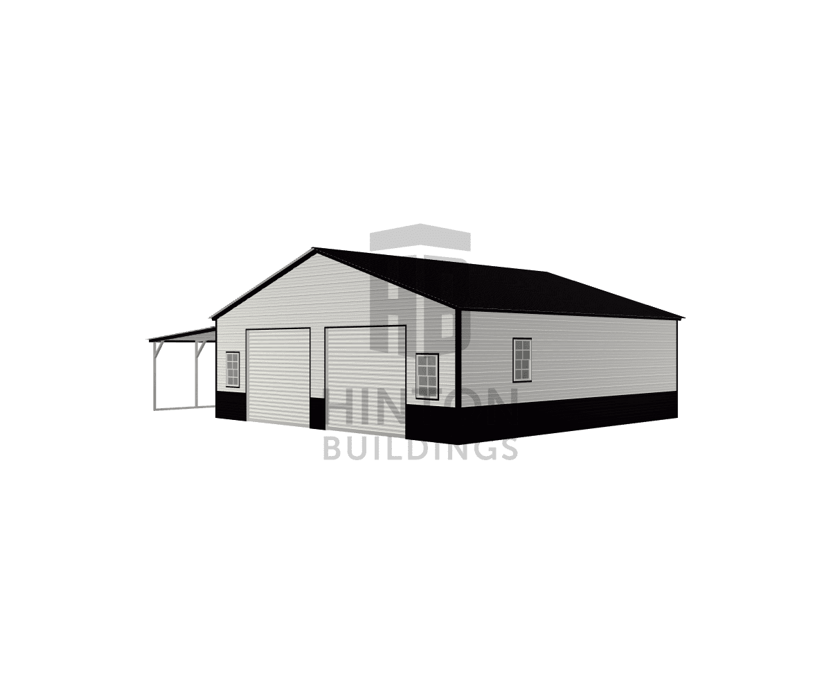 Timothy from Oxford, NC designed this 30,12x30,30x9,7 building with our 3D Building Designer.