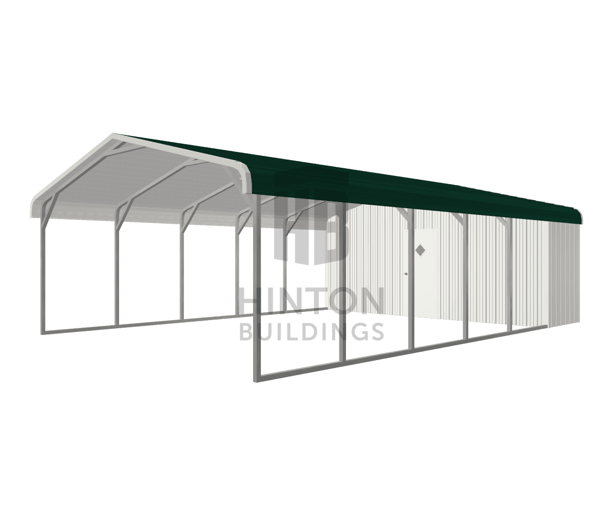 Rhonda from Benson , NC designed this 20x30x7 building with our 3D Building Designer.